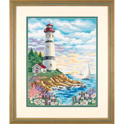 Paint Works LIGHTHOUSE at SUNRISE         , LIST PRICE $12