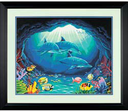 Paint Works DEEP SEA PARADISE Lg          , LIST PRICE $19.5