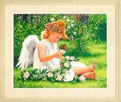 Paint Works DARLING ANGEL Lg , LIST PRICE $19.5