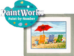 Paint Works BEACH CHAIR TRIO Med , LIST PRICE $12