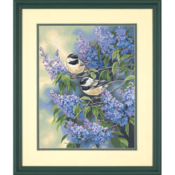 Paint Works CHICKADEES & LILACS Med       , LIST PRICE $12