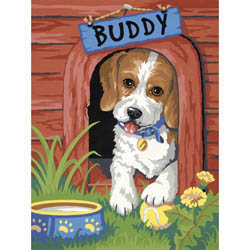 Paint Works CUTE PUPPY Internediate       , LIST PRICE $8.79