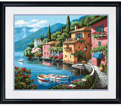 Paint Works LAKESIDE VILLAGE Lg           , LIST PRICE $19.5