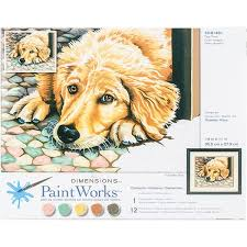 Paint Works Dog Tired Med, LIST PRICE $12