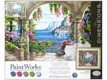 Paint Works FLORAL PATIO Lg, LIST PRICE $19.5