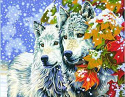 Paint Works Early Snow (Wolves), LIST PRICE $999.99
