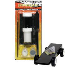 Pine Pro Black Complete Paint System, LIST PRICE $9.99