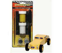 Pine Pro Cosmic Yellow Complete Paint System, LIST PRICE $8.99