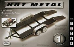 Testors Model Car Trailer Metal Lvl 1 4pk, LIST PRICE $16.42