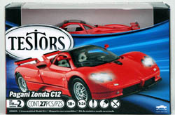 Testors Model PAGANIZ ZandA Metal Lvl 2 4pk, LIST PRICE $27.65