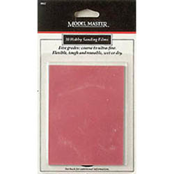 Testors MM Accessories Sanding Films 12pk, LIST PRICE $9.22