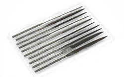 Testors Needle Files (10ct) Tool, LIST PRICE $14.21