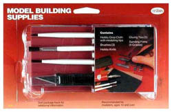 Testors Model Building Supplies 6pk, LIST PRICE $14.37