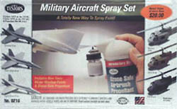 Testors Airbrush Cap Sprayer Military Set 6pk, LIST PRICE $27.21