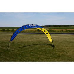 Premier Kites & Designs 10 ft x 4 ft� FPV Fly Under Arch w/Stakes, HH Logo, LIST PRICE $69.5