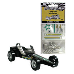 Pine Car DRAG STAR CUSTOM PARTS , LIST PRICE $6.99