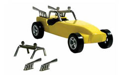 Pine Car DUNE BUSTER CUSTOM PARTS , LIST PRICE $4.99