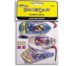 Pine Car CANOPY SET , LIST PRICE $3.99