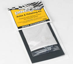 Pine Car AXLES & POLISHING KIT , LIST PRICE $3.99