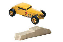 Pine Car DEUCE COUPE BLOCK , LIST PRICE $7.99