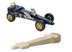 Pine Car DRAGSTER BLOCK , LIST PRICE $7.99