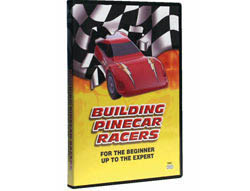 Pine Car DVD BUILDING PINECAR RACERS , LIST PRICE $14.99