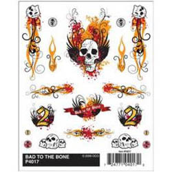 Pine Car BAD to The BONE DRY TRANSFER  , LIST PRICE $5.99