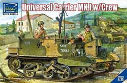 Rich Models UNIVERSAL CARRIER Mk.I 1:35, LIST PRICE $66.59