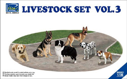 Rich Models LIVESTOCK SET #3 1:35, LIST PRICE $23.25