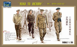 Rich Models Road To Victory Ww-Ii Brit :35, LIST PRICE $14.5
