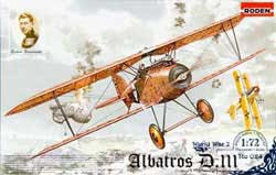 Roden Plastic Kits ALBATROS S.153 Early 1:72 , LIST PRICE $11