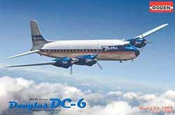 Roden Plastic Kits 1/144 Douglas DC-6 USA, LIST PRICE $31.35