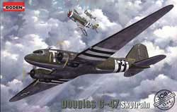 Roden Plastic Kits 1/144 Douglas C-47 Skytrain New!, LIST PRICE $25