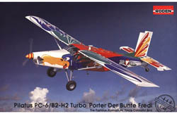 Roden Plastic Kits 1/48 Pilatus PC-6/B1-H2 Turbo 'Der Bunte Fredi', LIST PRICE $52.99