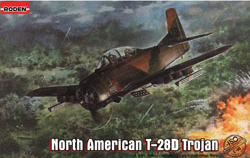 Roden Plastic Kits 1/48 North American T-28D Trojan, LIST PRICE $56