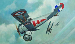 Roden Plastic Kits 1/72 Nieuport 24 BIS WWI French Fighter, LIST PRICE $16.99