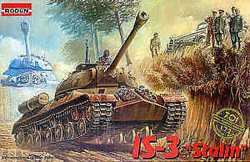 Roden Plastic Kits IS-3 STALIN TANK 1:72 , LIST PRICE $11