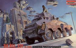 Roden Plastic Kits Sd.Kfz.231 1:72 , LIST PRICE $11
