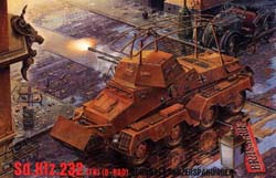 Roden Plastic Kits Sd.Kfz.232 1:72 , LIST PRICE $11
