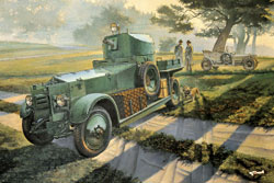 Roden Plastic Kits BRITISH Mk.I ARMORED CAR 1:35, LIST PRICE $60
