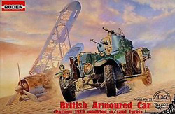 Roden Plastic Kits 1/35 British Armoured Car, LIST PRICE $60