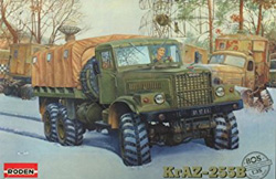 Roden Plastic Kits Kraz-255B Heavy Truck 1:35, LIST PRICE $65