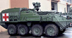 "Trident HO M1133 MEV ""Stryker"" AMB, LIST PRICE $53.99"