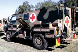 Trident HO Bushmaster Ambulance Kit (Resin Metal) Australian Army, LIST PRICE $46.99