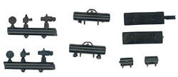 Train Station Products HO Pass car brake equipment, LIST PRICE $5.95