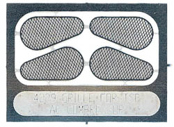 Train Station Products HO Etched blt guards f/AC 4/, LIST PRICE $9.95