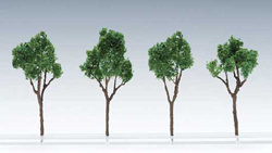 Tomytec Co Ltd HO Deciduous Trees without Bases Dark Green pkg(4), DUE 2/22/2019, LIST PRICE $9.98