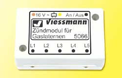 Viessmann Ignition Simulator for Gas Lanterns Controls up to 15 Lamps, LIST PRICE $37.99
