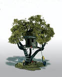 Woodland TOMMYS TREEHOUSE MINI SCENE, LIST PRICE $23.99