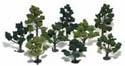 "Woodland Scenics 3 5"" MIX DECIDUOUS TREES 14/KT, LIST PRICE $19.99"